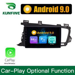 charutos chineses Desconto Android 9.0 Ram 4G Rom 64G PX6 Córtex A72 Carro DVD GPS Multimedia Player Estéreo Do Carro Para KIA K5 2009-2015 Headunit