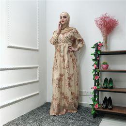 Ramadan lantejoulas rendas abaya dubai peru islam muçulmano hijab dress kaftan abayas para as mulheres jilbab roupa cafetã qatar elbise robe cheap caftan sequin de Fornecedores de cetim caftan
