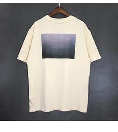 Camisa da orelha on-line-19SS ORELHA DE DEUS FOG ESSENSIAL INS Logotipo Popular de Manga Curta Casuais Mens Designer T Camisas Designer de Camisas Polo Homens