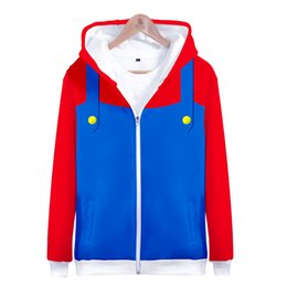 127580df3 3D MARIO 2018 so hot Hoodies Women Men Printed Thicker Fluff Warm Fashion  Chinese Zipper Sweatshirt Coat Sudaderas chinese fashion hoodies on sale