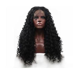 Canada Vente chaude de mode de haute qualité Afro bouclés cheveux longs dentelle frontale perruques 22 pouces bonnet de dentelle élastique avec bonnet de tissage livraison gratuite cheap curly elastic laces Offre