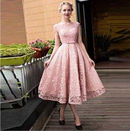 Elegante kleider pink