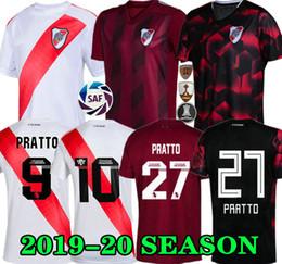 Prato do rio on-line-Qualidade superior 19 20 PLACA DE RIO Home jersey futebol MARTÍNEZ D, ALESSANDRO BALANTA CAVENAGHI SCOCCO 2019 2020 River Plate AWAY Camisa de futebol