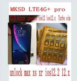 Iphone t mobile онлайн-2019 MKSD SIM GOLD CHIP разблокировка SIM-карты iphone XS MAX XR CARD Корея США Спринт T-Mobile софт AU софтбанк Tecel Mexico SKT KT LGU + Сим-карта