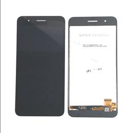 pantallas de visualización móviles Rebajas Montaje de pantalla LCD completo para 5.0 Garantía de calidad de piezas de reparación móviles de LG K9 X210FM en negro