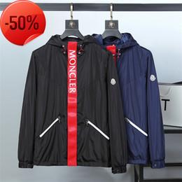Canada veste style simple lettre modèle hommes vêtements mode fermeture à glissière veste tendance veste de haute qualité tissu T-M2 cheap simple fabric patterns Offre