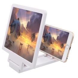 2019 pantallas de visualización móviles Titular F1 pantalla del teléfono móvil Ampliar 3D Amplificador lupa de vídeo del teléfono Pantalla plegable ampliada Expander la protección de ojos pantallas de visualización móviles baratos