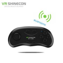 2019 xbox verde VR Shinecon Gamepad Bluetooth Wireless Phone Pad para juegos Controlador de juegos de control remoto Joypad para Android para iPhone para gafas VR