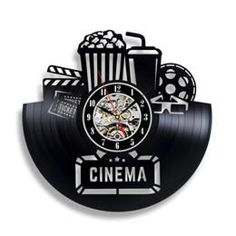 Canada Disque vinyle et cinéma Popcorn - Décoration murale pour salle de jeux de Handmade Solutions - Idée cadeau pour un meilleur ami Offre