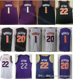 35664adac4d7 2019 basketball trikot team College 22 Ayton Jersey Männer Basketball 1  Booker 20 Jackson Jerseys Teamfarbe
