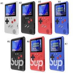 Supmini El Oyun Konsolu Arcade Oyunları Nostaljik Oyun Oyuncu Taşınabilir 168 1 FC Oyunları Renkli LCD Ekran Oyun Oyuncuları nereden