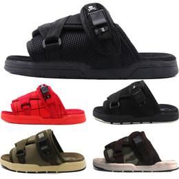 2019 Street Sandals Visvim Fashion Luxury Дизайнерская Обувь Мужчины Женщины Любители Повседневная Обувь Тапочки Пляжные Сандалии Открытый Хип-Хоп Тапочки от