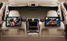 auto armaturenbrett tvs Rabatt 10,8 zoll ROM 16 GB Auto android kopfstütze monitor 1920 * 1080 HD display fm sender Mit 1 weg AV aus, 1 weg AV in. HDMI ausgang