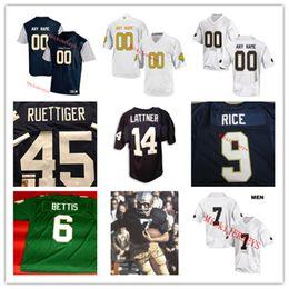 d75acef58 notre dame jerseys 2019 - Notre Dame Football Jersey JEROME BETTIS Tony  Rice Walt Patulski Paul