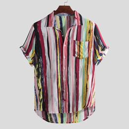 Camicie New Fashion Holiday Uomo Elegante e lussuoso Camisa Tinta unita a maniche lunghe con scollo tondo Hawaii manica corta orlo tondo Camicia casual allentata supplier shirts hawaii da shirt hawaii fornitori