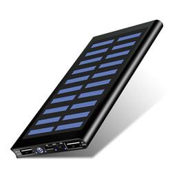 2019 banque d'alimentation solaire étanche 20000mAh chargeur solaire 2 ports USB chargeur externe Powerbank pour Xiaomi Smartphone iPhone 8 XS ? partir de fabricateur