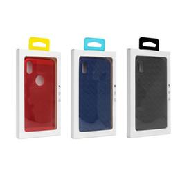 Personnalisé Blister Emballage De Détail Emballage Transparent Emballage Boîte pour iPhone X XS 7 8 Plus Cas Couverture de Téléphone Shell Téléphone Accessoire Logo Personnalisé ? partir de fabricateur