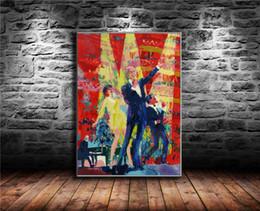 Нейман Королевский Альберт-Холл , Холст Живопись Гостиная Home Decor Современная Настенная Живопись Маслом от