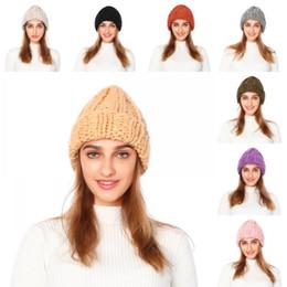 tappi di regolazione Sconti 2019 lana di Best Selling Lady cappello Cap Beanie delle lane Curling ispessimento caldo nuova explosionCap, elastico Regolazione N9Z