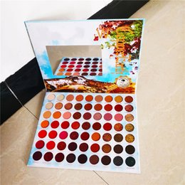 summer eye shadow Promo Codes - 2019 Hot Summer Colorful Eyeshadow Palette 63 Colors Matte Shimmer Blendable Bright Eye Shadow Pallete Silky Powder Pigmented Makeup Kit