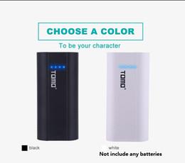 2019 carregadores de bateria portátil 18650 li-ion bateria universal carregador inteligente portátil inteligente carregador de bateria de telefone celular usb carregadores dupla saída diy power bank case p2 desconto carregadores de bateria portátil