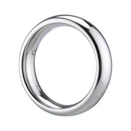 productos de sincronización sexual del hombre Rebajas HugMee juguetes del sexo para los hombres tiempo de retardo del metal del anillo del martillo del anillo Lasting adultos Massager anillo del pene AV juguetes adultos C0143 Producto