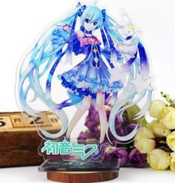 1 Pc Belle Bande Dessinée Anime Hatsune Miku Acrylique Stand Modèle Jouets Titulaire de La Plaque Action Figure Pendentif Jouet Enfants Cadeau ? partir de fabricateur