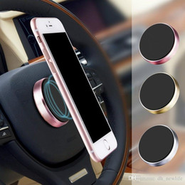 Сосать мобильный онлайн-Мини Магнитный Универсальный SMD Металлический Автомобильный Мобильный Телефон Многофункциональный Магнит Suck Мобильный Телефон Навигационный держатель