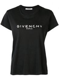 Camisas occidentales de algodón online-2019 verano nueva camiseta de media manga de las mujeres estilo occidental moda camiseta suelta hermosa camiseta de algodón de manga corta de las mujeres