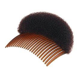 Haare puffs zubehör online-Kamm Haarbürste Pro Hair Puff Paste Erhöhung Prinzessin Frisur Gerät Hase Zubehör Erhöhen Schwamm Machen Pad