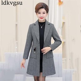 d7a5908f8 Distribuidores de descuento Blazer Winter Coat Plus Size | Blazer ...