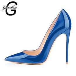 Navy Blue High Heel Stilettos Canada