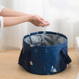 organizador de camping Rebajas Organizador de embalaje multifuncional bolsa de viaje plegable Cubo de agua para ropa de baño lavado de frutas para viajes al aire libre Camping Hola
