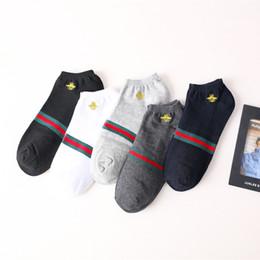 Nuovo prodotto coreano online-donne designer giapponesi e nuovi prodotti coreani di cotone moda uomo barca calza casual bassa per aiutare calzini sportivi di bassa marea bocca