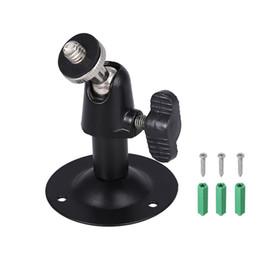 Deutschland 2 Teile / los Wandhalterung Installation Metallhalter CCTV-Kamera Ständer mit Schrauben Für Überwachungskamera Versorgung