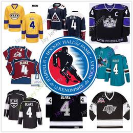 2019 haie eishockey Rob Blake-Trikot mit Eishockey Hall of Fame-Patch Los Angeles-Könige Colorado-Lawine San Jose Sharks alle genäht rabatt haie eishockey