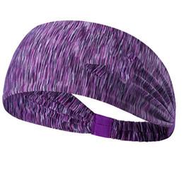 Fashion UA Ленты для волос Быстросохнущие Эластичные Ободки для волос Аксессуары для волос Голова Рождество Хлопок Для Йоги Бег нескользящая лента для волос от