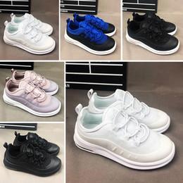 Zapatos de bebe talla 2.5 online-Nike air max 98 Nueva llegada 2018 Zapatillas deportivas para niños 98 AXIS Zapatillas con amortiguación de aire Zapatillas deportivas para niños de suela Tamaño del bebé 28-35
