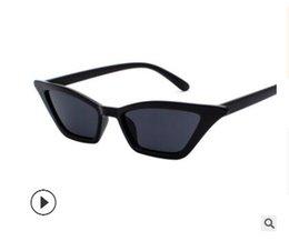 Deutschland 2019 New Personality Sonnenschutz Fashionista Trend New Fox eye Sonnenbrille Cat-eye Sonnenbrille Women Versorgung