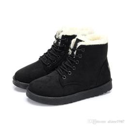 2019 mulheres de neve do inverno austrália clássico ajoelhar meia botas barato ankle boots preto cinza marinha vermelho lã menina das mulheres bottes tamanho 35-40 supplier c chocolate de Fornecedores de chocolate