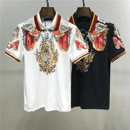 2019 nouveau modèle armée t-shirt Blanc Noir Hommes T-shirts de coton pour hommes femmes T-shirt Lettres d'impression Tee Tops été Mode Casual Polo T shirt1