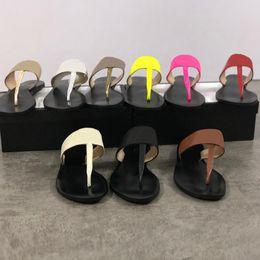 50201c7459b88c Glissières pour femmes sandales tongs string pantoufles chaînes en métal  chaussures de style pantoufles d'été pour les femmes 100% cuir véritable  top ...