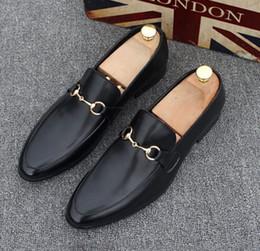 7d679a2b11 pattino di guida del mens loafer Sconti Scarpe da uomo Luxury Brand in vera  pelle Casual