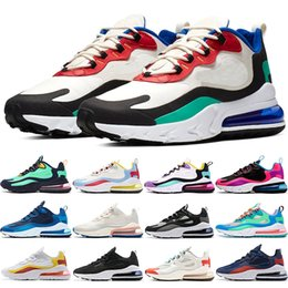 ce82a5f588b82 fred perry Promotion Nike Air Max 270 React Pas Cher Hommes Femmes  Chaussures De Course BE