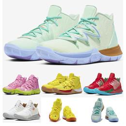 2020 Kyrie 5 Bobs Patrick Kinder Jungen Mädchen Basketball Schuhe Irving 5s Sport Designer Turnschuhe Größe 11C 3J