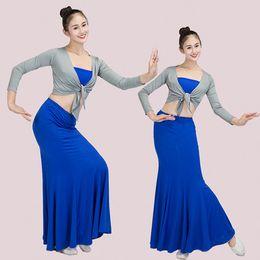 Mezze gonne Dai adulti per bambini Peacock costumi di danza Gonne di pratica di danza Altre forniture di nozze da