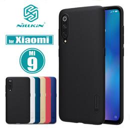 Étui nillkin en Ligne-Pour XiaoMi Mi 9 Case Mi9 Couverture Nillkin Bouclier Givré PC Cas Dur Retour Cas pour XiaoMi Mi 9 SE Téléphone Case Mi9