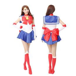 Luna de marinero xxl online-Anime Sailor Moon Tsukino Usagi Cosplay fiesta de disfraces a medida cualquier vestido de tamaño de alta calidad