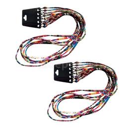 2020 cordas para óculos 10PCS étnico Cord Bohemian Óculos Neck Titular Óculos de Cordas Lanyard desconto cordas para óculos