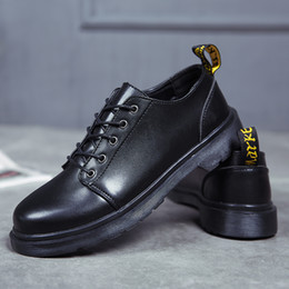 chaussures de travail oxford femme Promotion Couple Dr.martins femmes chaussures Travail classique Bottes Hommes Hiver Bottes De Neige Automne Outillage chaussures doc.martens Oxfords Unisexe